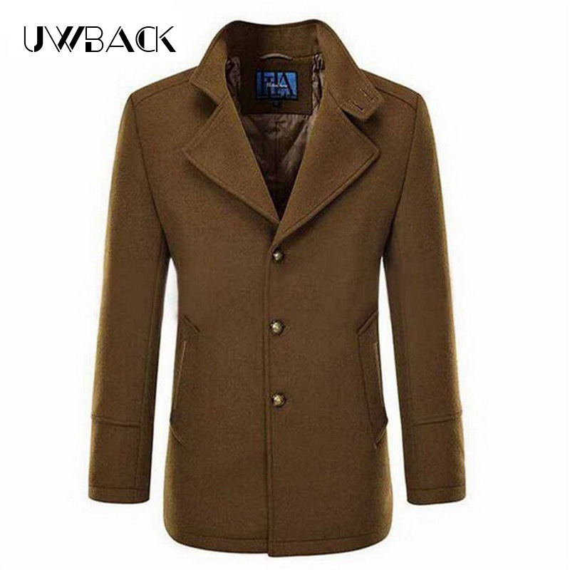Popular Brown Winter Coat Men-Buy Cheap Brown Winter Coat Men lots ...