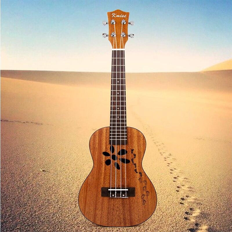 Kmise Concert Ukulele Mahogany 23 inch Ukelele Uke 4 String Hawaii Guitar kmise concert ukulele mahogany ukelele uke 23 inch 4 string hawaii guitar rosewood bridge