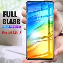 2Pcs/lot Full Tempered Glass For Xiaomi Mi MIX 3 Screen Protector 9H 2.5D Anti Blu ray Toughened glass For xiaomi mi mix3