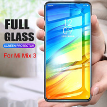 2Pcs/lot Full Tempered Glass For Xiaomi Mi MIX 3 Screen Protector 9H 2.5D Anti Blu-ray Toughened glass For xiaomi mi mix3