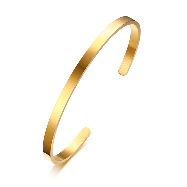 Simple Thin Cuff Bracelet...