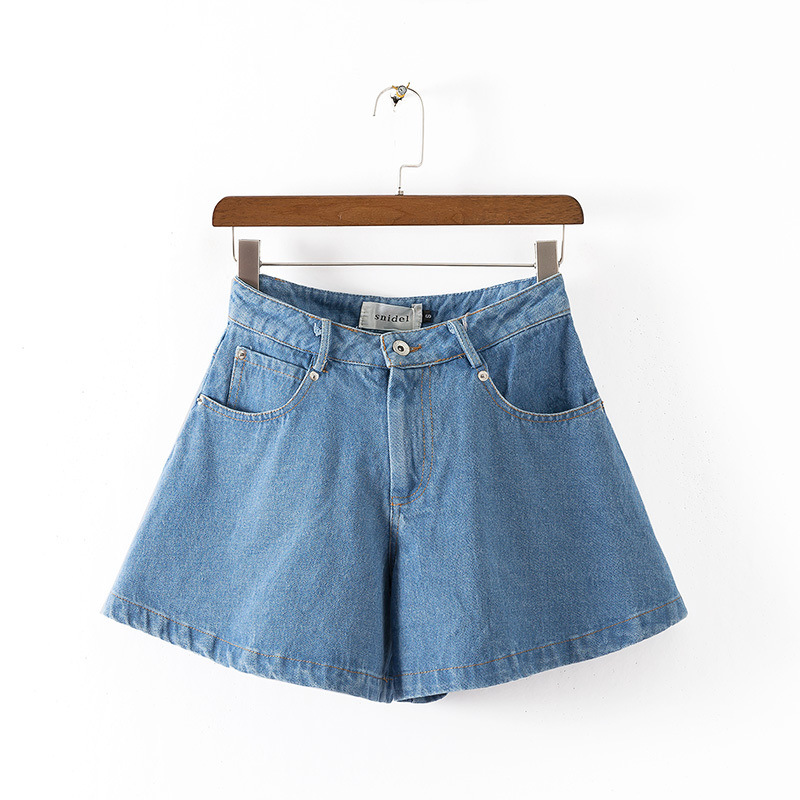 2017 New arrival summer women s skinny denim shorts High Waist Sexy girls jeans pants