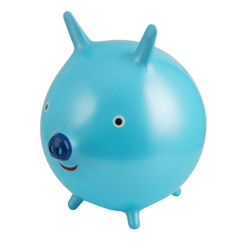 어린이 풍선 볼 장난감 고무 경적 공 크리 에이 티브 돼지 환경 Bouncing 공 어린이 야외 장난감 재미 아이 선물에 대 한