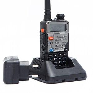 Image 5 - BAOFENG UV 5RE Tri power 8 Вт/4 Вт/1 Вт 10 км портативная рация высокой мощности cb HAM двухстороннее радио обновление UV 5RE