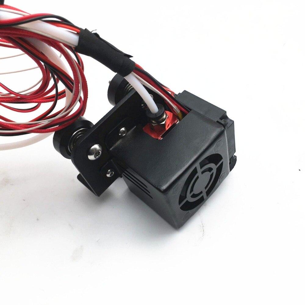 CR-10 3D Imprimante X Plat De Chariot avec hotend de refroidissement Ventilateur 12 v/24 v DC Refroidisseur CR-10 3D IMPRIMANTE PARTIE