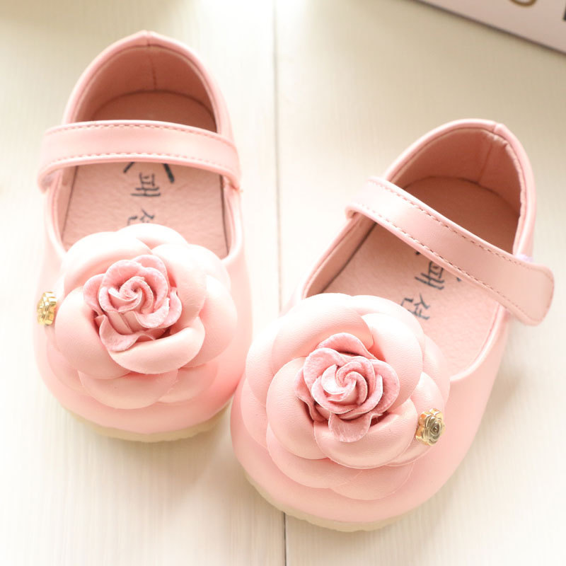 Peach Infant Dress Shoes