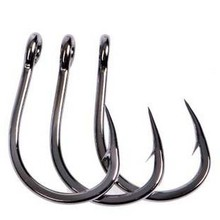 25pcs Sea Fishing Hook Jigging Hook assist hook Game fishing hook Stainless steel No Rust Free shipping
