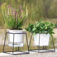 1pcs Automatic Watering Planter Flower Pot Hydroponic Succulent Cactus Nursery Pots Garden Supplies Home Office Decor