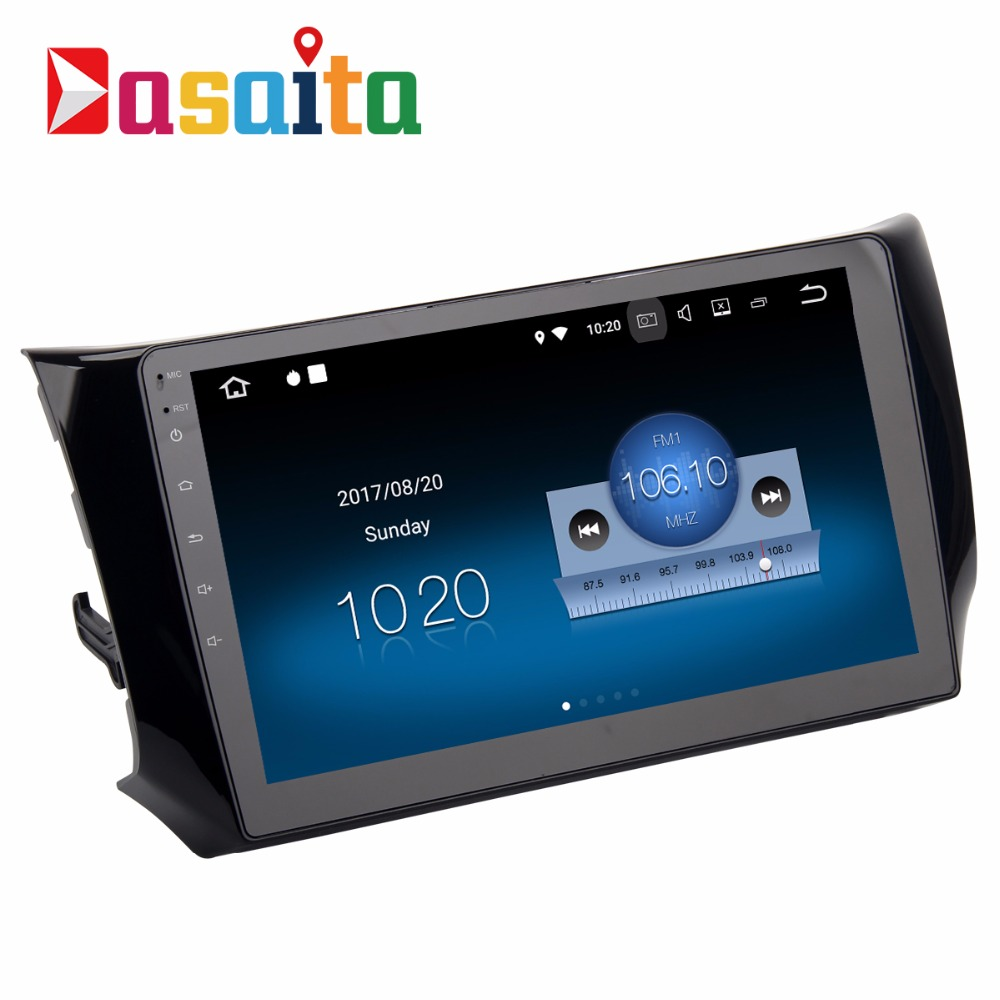Dasaita 10.2 Android 7.1 Car GPS Player Navi for Nissan Sylphy B17 Sentra North America Pulsar with 2G+16G Quad Core AutoRadio carburetor carb for nissan a12 cherry pulsar vanette truck datsun sunny b210 pulsar truck 16010 h1602 16010h1602 16010 h1602