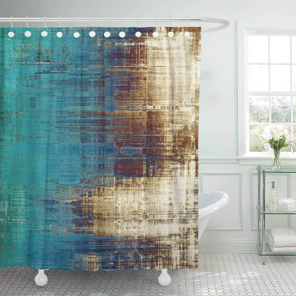 Shower Curtain Old Vintage Patterns