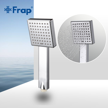 Frap Water saving Square shower head ABS plastic hand hold bath Bathroom Accessories F002 - discount item  44% OFF Bathroom Fixture