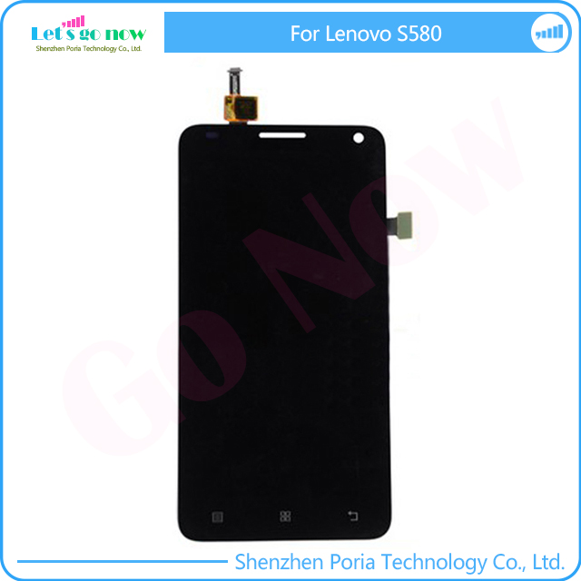 FLPORIA New For Lenovo S580 LCD Display Touchscreen Digitizer Assembly Replacement Parts With Tools In Stock