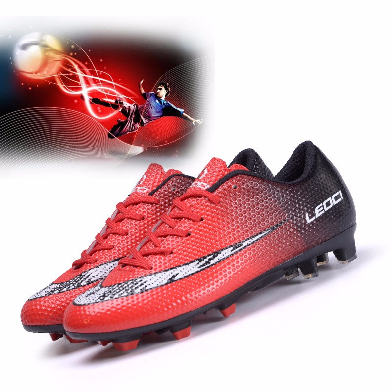 New FG Football Boots Cleats Soccer Shoes Kids Boys Girls Chuteiras botas de futbol voetbalschoenen chaussure foot Chuteiras 4