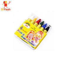 6 Colors Face Body Paint Crayons Regular Standard Makeup Kids Face Paint Pigment Painting Model Painting Marker Flag Design Set