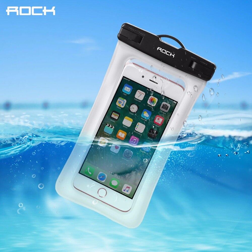 ROCK Waterproof Phone Cases for iPhone 5 6 7 Samsung Xiaomi Huawei Meizu High Quality Universal