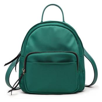 Simple Women small Backpack Female shoulder bags Casual PU Leather Bag Teenager School Mochila Feminina Rucksack Mochilas Mujer