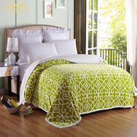 ROMORUS 8 Colors Soft Flannel Blanket King Size 200 230cm Double Sides Throw Blankets Bed Sheet
