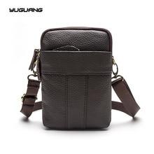 Men's bags, leather business retro bag, multi bag, single shoulder fashion&classical
