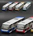 Высокая моделирования модель автобуса, 1:32 Сплав вытяните назад автомобили, металл Экскурсионный автобус, автомобили игрушки, игрушка в подарок bus, бесплатная доставка