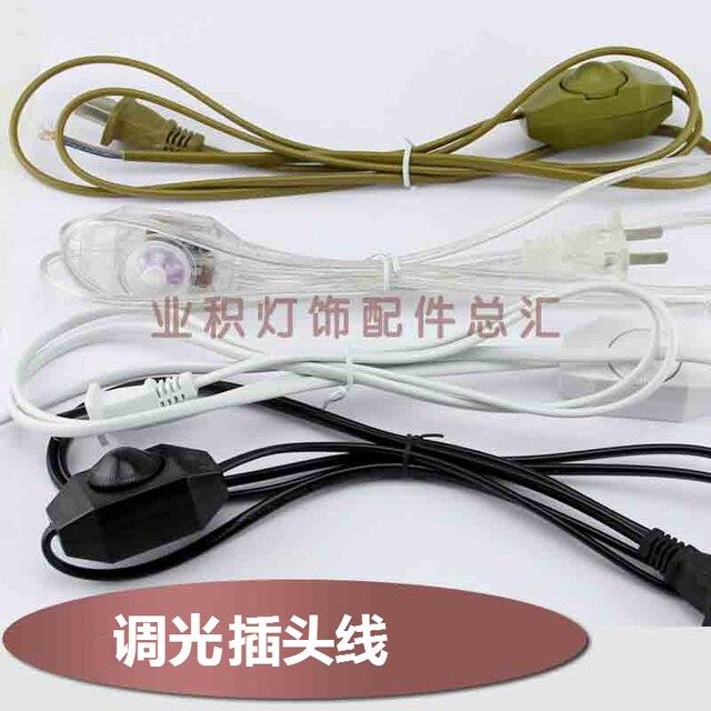 3C certificering bureaulamp dimmen schakelaar draad DIY lijn ...