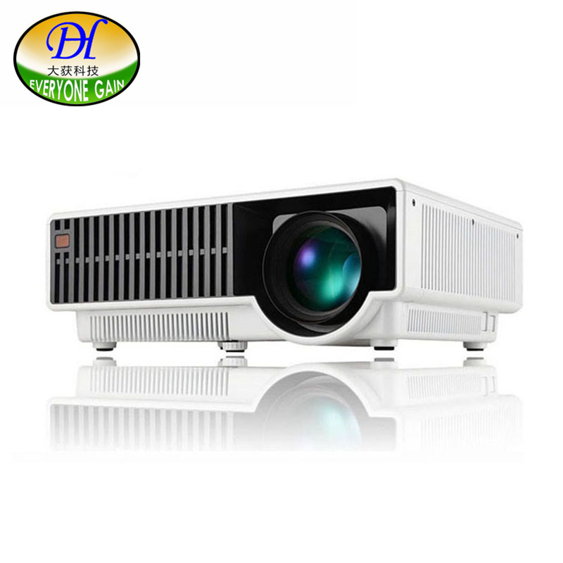 Everyone Gain DH-330 New Arrival Android  Projector Home theater LED WIFI Bluetooth4.0 Video Projetor with Double HDMI USB ports  рейсмус metabo dh 330