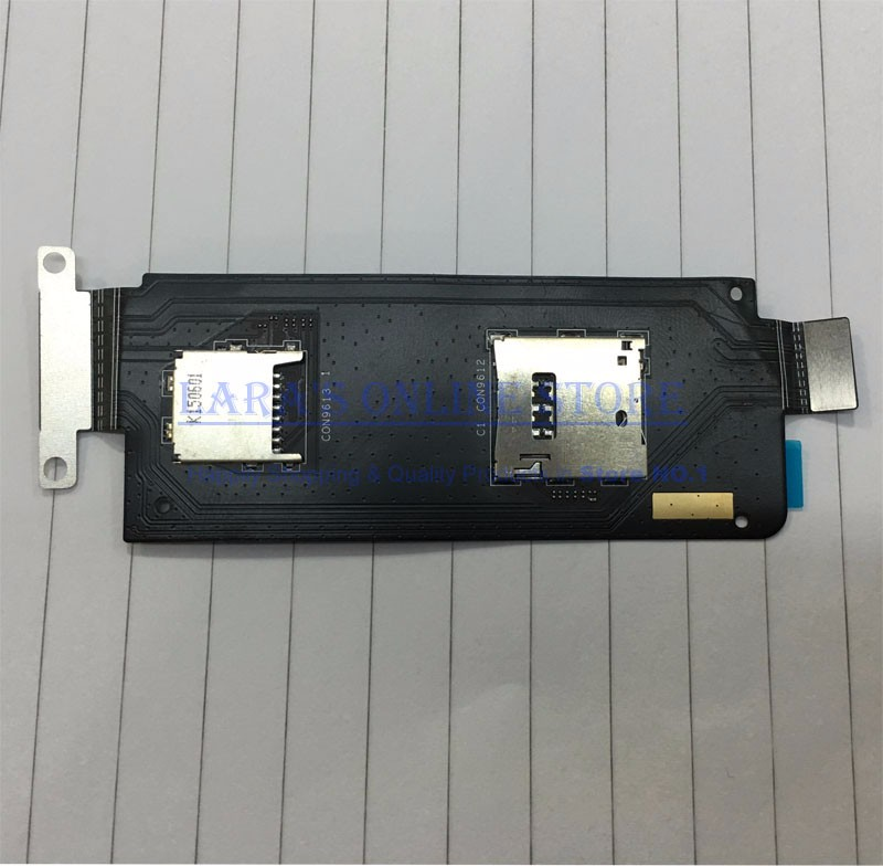 JEDX Tested Good For Asus Zenfone ZOOM ZX551ML Sim Card Reader Slot Memory SD Card Holder Socket Board Flex Cable Spare PartsJEDX Tested Good For Asus Zenfone ZOOM ZX551ML Sim Card Reader Slot Memory SD Card Holder Socket Board Flex Cable Spare Parts