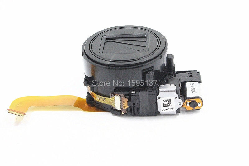 Black Silver New Original zoom lens unit Repair parts For Sony DSC HX90 WX500 HX90V Digital