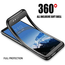 For Fundas Samsung Galaxy J3 J5 J7 2017 Case 360 Samsung J2 J3 J5 J7 Prime J4 J6 J8 2018 Cover 360 Cute Full Silicone Phone Case