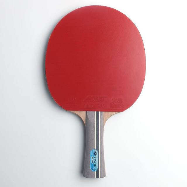 Original Galaxy yinhe 04b table tennis rackets blade with pimples in rubber racquets ping pong paddles pure wood for loop player