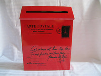 Rustic Iron Mail Mailbox Fashion Vintage Bucket Tin Newspaper Boxes Mail Box
