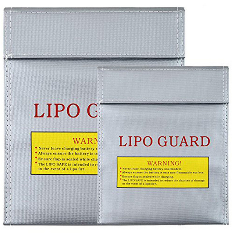 Lipo Battery Explosion-proof Safety Bag Strongest Proof Flame