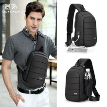 Men Boys Chest bags Oxford Trendy fashionable Urban casual packs crossbody bag brief New design tidal 2019 large Top