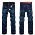 Fashion!2015 New Mens Winter and Autumn Plus Thick velvet Jeans Men Demin Jeans Men Warm Pants Trousers Freeshipping MP680