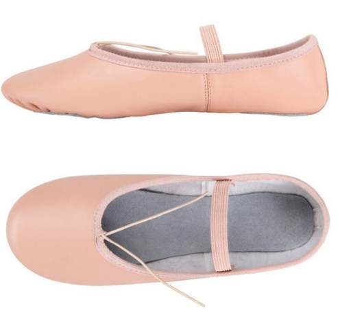 лучшая цена 2017 Professional Ballet Shoes Slippers Women Girls Toddler Genuine Leather Zapatillas Ballet Full Split Sole Ballet Dance Shoe