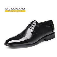 New British Men's Loafers Genuine Leather  Shoes Fashion Man Pointed Toe Formal Wedding Shoes Male Flats Dress Shoes Size 37-44