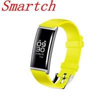 Smartch X9 смарт-браслет сердечного ритма группа Presión arterial Мониторы IP67 водонепроницаемый браслет Фитнес трекер smartband для iOS и