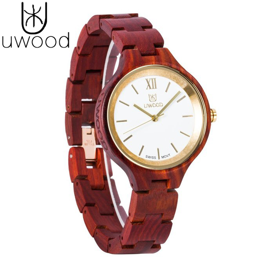 ФОТО 2016 New Arrival Rare Slim Wood Watch Wooden Band Japan Move' 2035 Quartz Wood Watch for Women as Gifts Movement Watches Wooden