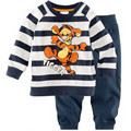 Children Pajamas Boy's Cotton Nightwear Cartoon tigger winter Loungewear Kids Boys Homewear  Autumn baby Sleepwear P051