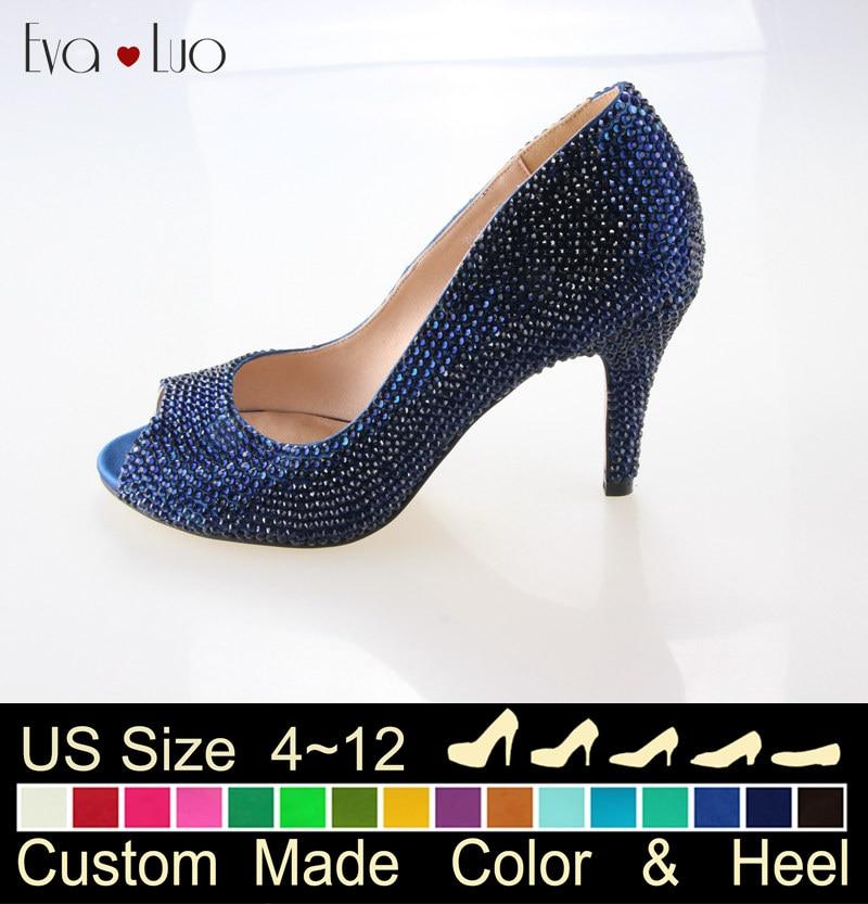 Blue Dress Shoes Women Promotion-Shop for Promotional Blue Dress ...