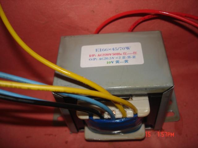 20.5V-0-20.5V 1.45A 10V 1A Transformer 220V  input  70VA   EI66*45 Multimedia power amplifier active speaker power transformer20.5V-0-20.5V 1.45A 10V 1A Transformer 220V  input  70VA   EI66*45 Multimedia power amplifier active speaker power transformer
