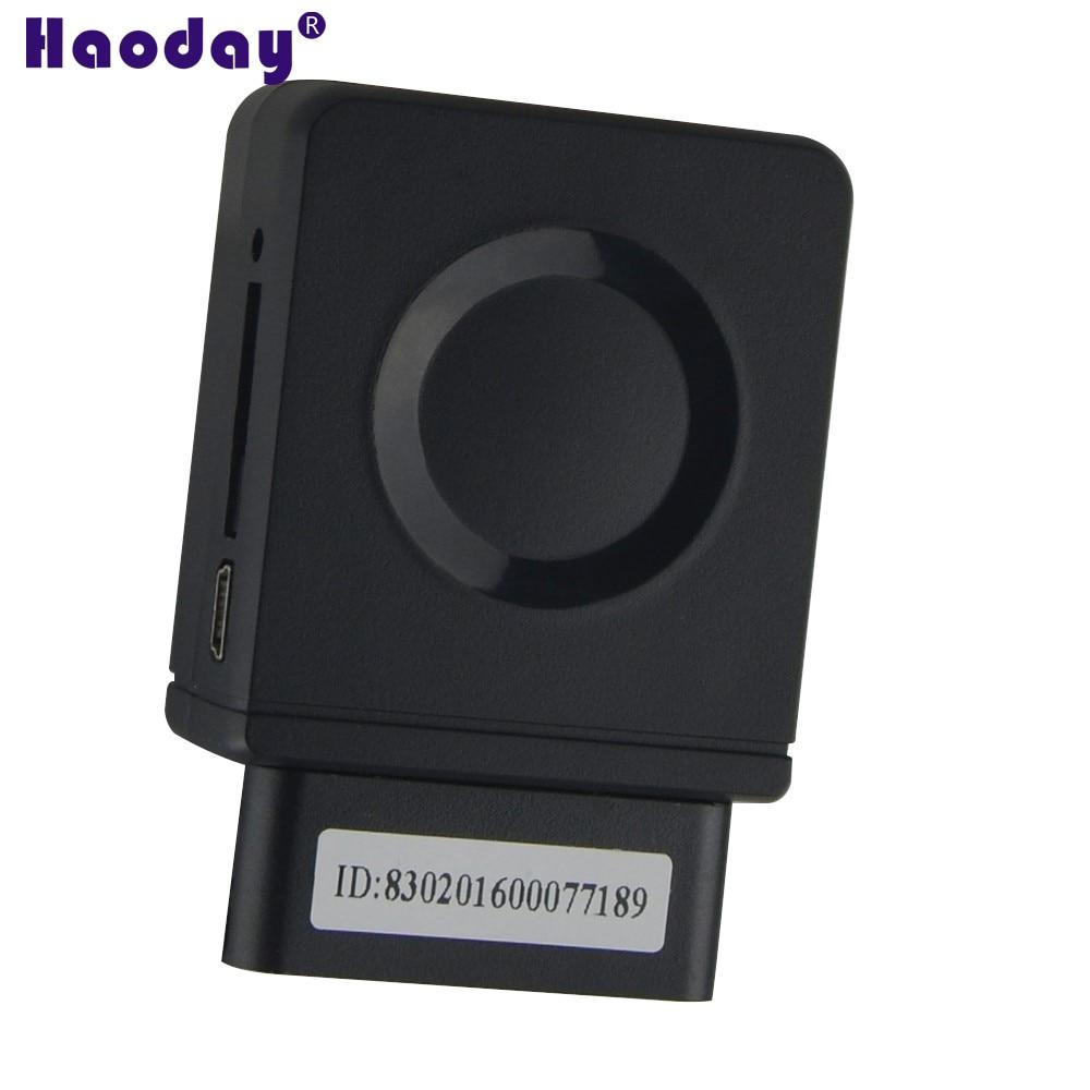 OBDII GPS Tracker WCDMA 3 GVehicle Tracker CCTR-830G avec Choc D'alarme et Construit-dans MICRO en temps Réel De Voiture dispositif de suivi