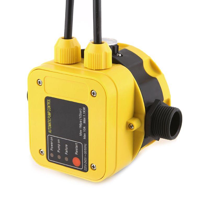 2019 nouveau pressostat de pompe à eau automatique régulateur de pression de pompe à eau électrique jauge de presse à eau