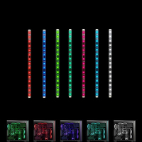 New Computer Cases L9 Chassis LED Monochrome Light Bar Desktop Computer Chassis RGB Discoloration Breath Magnetic Lamp Light Bar