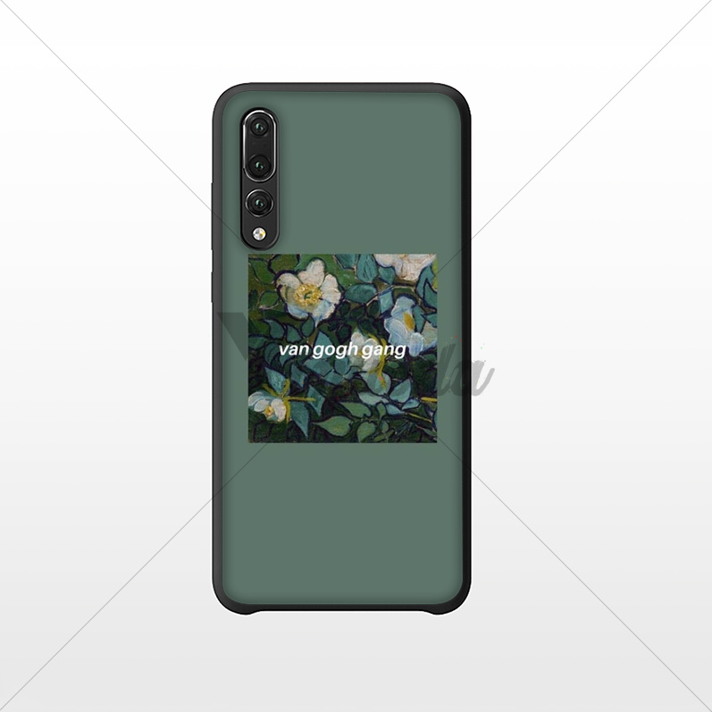 Yinuoda Great art aesthetic van Gogh Mona Lisa Phone Case for Huawei NOVE3E P10 Plus Mate9 10 Mate10 Lite P20 Pro Honor10 View10 in Half wrapped Cases from Cellphones Telecommunications