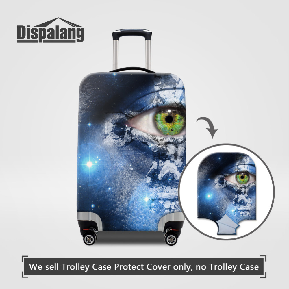 Dispalang Dustproof Elastic Thick Luggage Protective Covers For 18-30 Inch Suitcase Cover Luggage Protector Travel Accessories