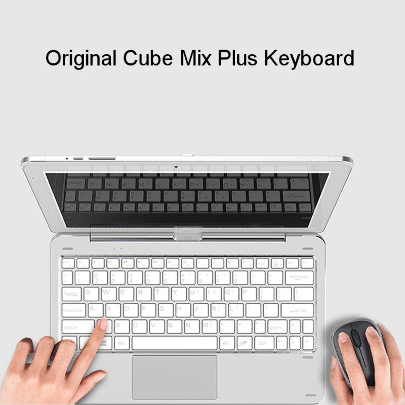 все цены на  Original Cube Docking Keyboard CDK09 Dual USB Rotary Shaft Magnetic Docking Touchpad 10.6inch for Cube Mix Plus Tablet  онлайн