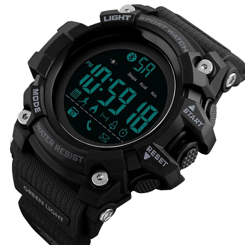 Men's Sports Smart Wrist Watch Pedometer Calories Waterproof Bluetooth Digital Electronic Watches