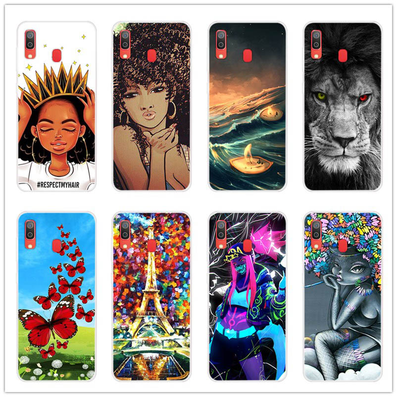 For Samsung A30 Case Silicone Soft TPU Back Case For Samsung Galaxy A30 A 30 Phone Cover Cases Funda 2019 phone cases