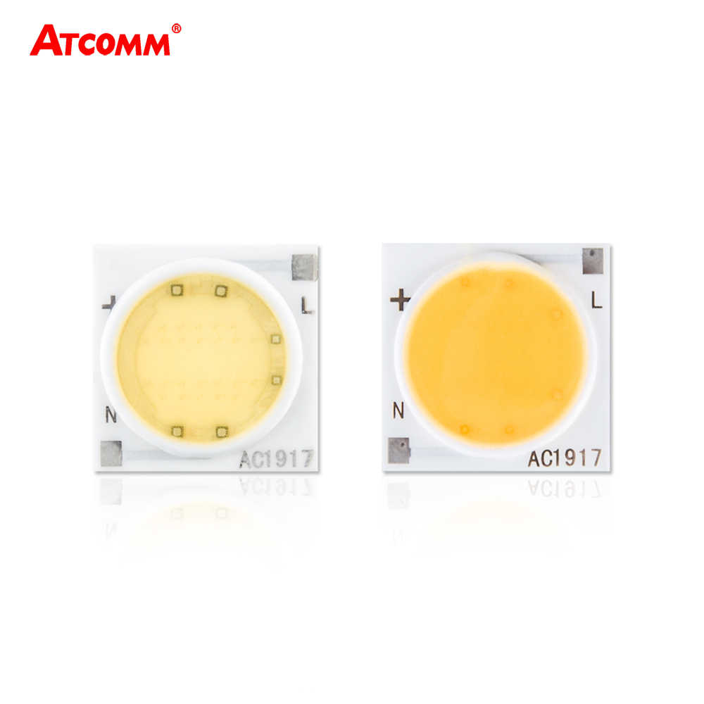 Samrt IC Ceramics LED Chip Lamp 3W 5W 7W 9W 12W 15W 20W 30W 220V COB LED Matrix Diode Array Floodlight Spotlight Downlight Bulb