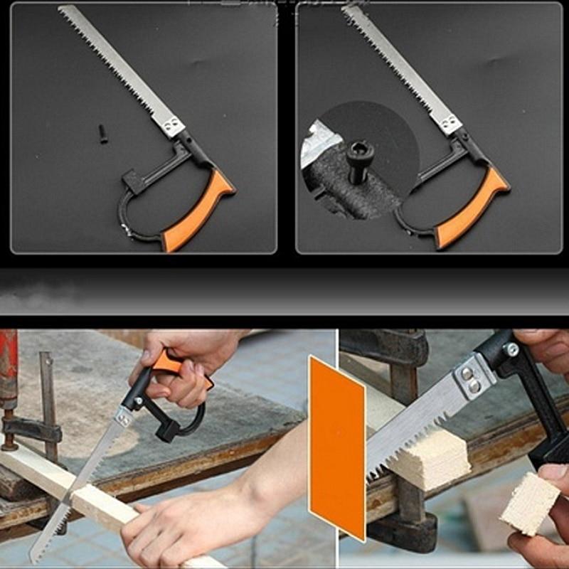 Portable 8-in-1 Multi-functional Universal Hand Saw Set DIY Metal Wood Glass